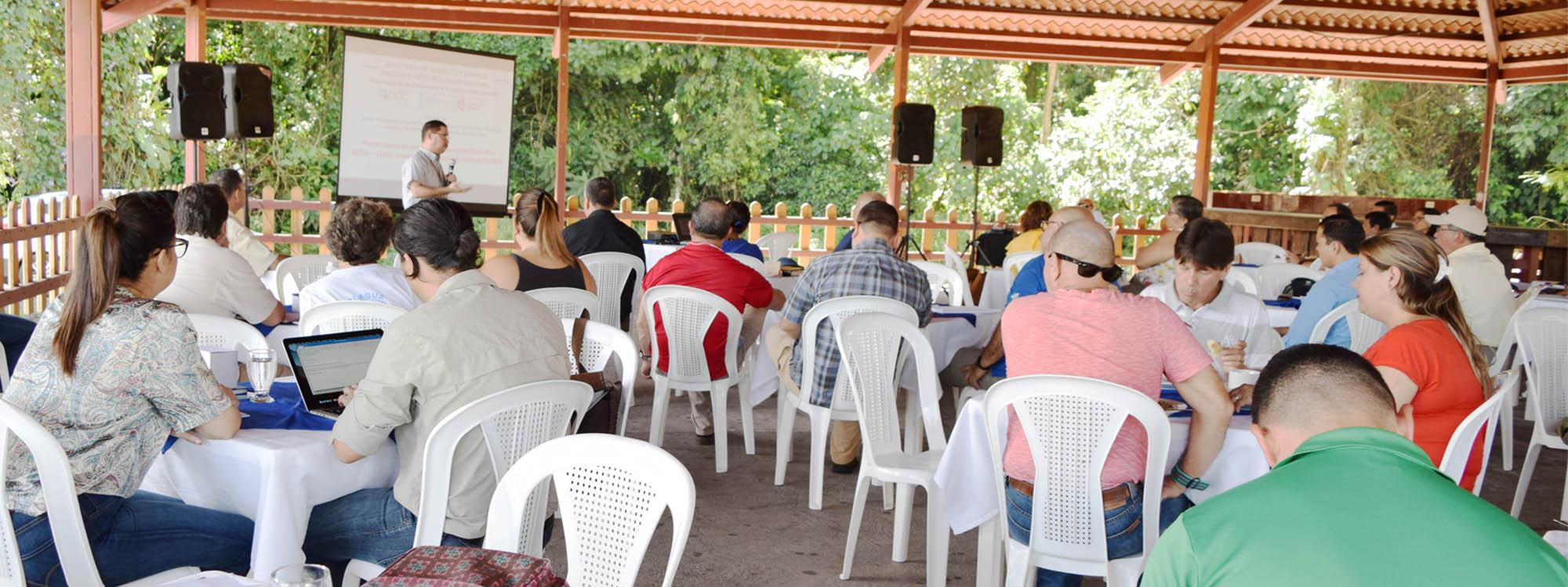 Presentación del Análisis de riesgo ante eventos hidrometeorológicos extremos para los cantones de Liberia, Carrillo, Matina y Talamanca