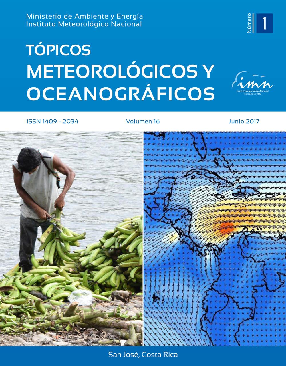 Revista Tópicos Meteorológicos, Vol. 16-1