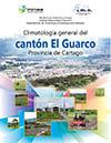 Climatología general del cantón El Guarco, 2017
