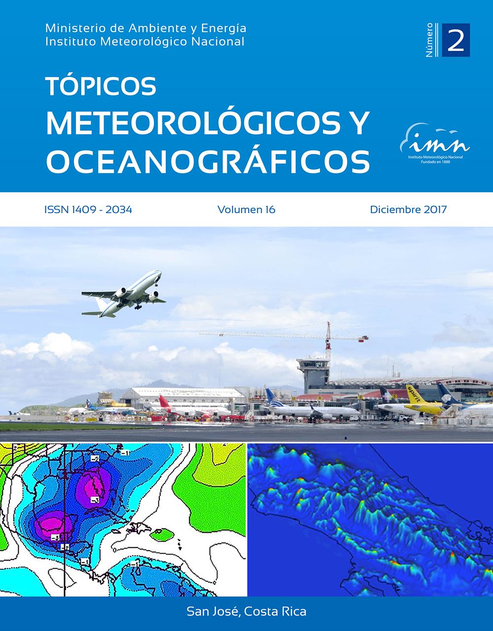 Revista Tópicos Meteorológicos, Vol. 16-2, 2017