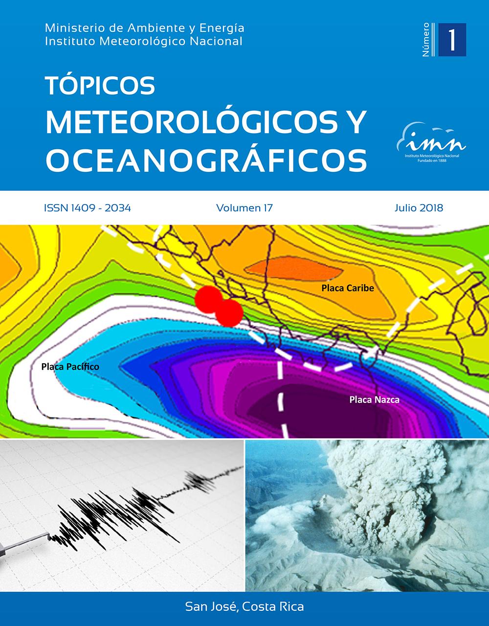 Revista Tópicos Meteorológicos, Vol. 17-1, 2018