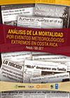 Análisis de la mortalidad por eventos meteorológicos extremos en Costa Rica. Período 1980-2017.